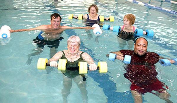 adult aquacise class