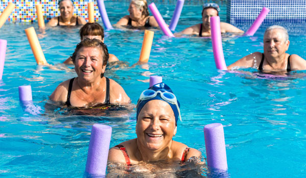 adult arthritis swim class