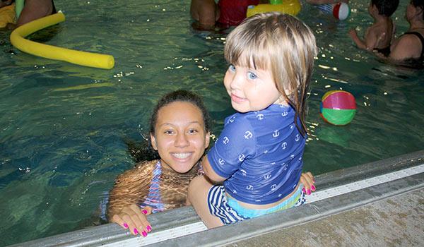 parent tot swim class