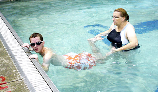 private swim instruction